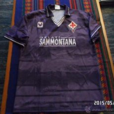Coleccionismo deportivo: CAMISETA FIORENTINA 1994 1995 94 95 MARCA ULHSPORT. TALLA XL. SIN USO. MUY RARA.. Lote 49427721