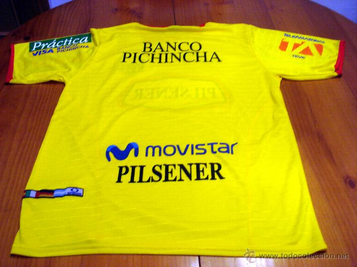 Coleccionismo deportivo  Camiseta oficial Barcelona Guayaquil Ecuador. 1ª  equipacion temporada 2008 2009. d7cd806e74c08