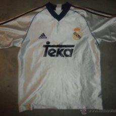 Sports collectibles - CAMISETA FUTBOL ORIGINAL ADIDAS REAL MADRID TEKA TALLA M - 49751978