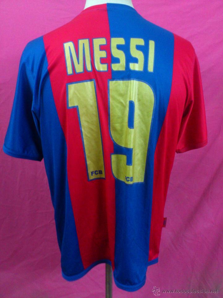camiseta futbol club barcelona dorsal 19 messi - Comprar Camisetas de Fútbol en todocoleccion ...
