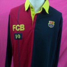 Coleccionismo deportivo: CAMISETA TIPO NIKI NIKY MANGA LARGA F.C. BARCELONA PRODUCTO OFICIAL TALLA XL. Lote 36176116