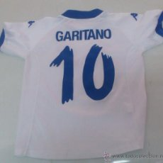 Sammelleidenschaft Sport - CAMISETA KAPPA FUTBOL REAL ZARAGOZA. 10 GARITANO TALLA NIÑO. - 32379248
