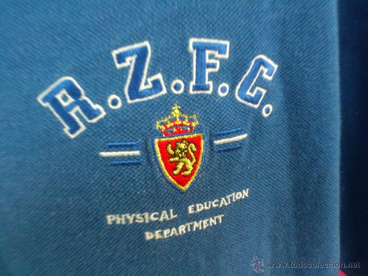 CAMISETA POLO NIKY NIKI ORIGINAL ADIDAS FUTBOL REAL ZARAGOZA TALLA 5 (Coleccionismo Deportivo - Ropa y Complementos - Camisetas de Fútbol)