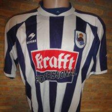 Coleccionismo deportivo: CAMISETA FUTBOL ORIGINAL ASTORE REAL SOCIEDAD OFICIAL TALLA XL. Lote 50337022