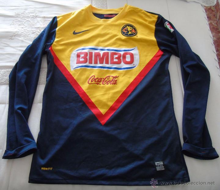 CAMISETA DE FÚTBOL. CLUB AMÉRICA DE CIUDAD DE MÉXICO. TEMPORADA 2010 2011.  Nº 10 MONTENEGRO. NIKE a0d17d45d9a85