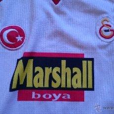 Coleccionismo deportivo: CAMISETA FUTBOL GALATASARAY TURQUIA MARSHALL BOYAN DORSAL 10 DE HAGI TALLA XL. Lote 50722728