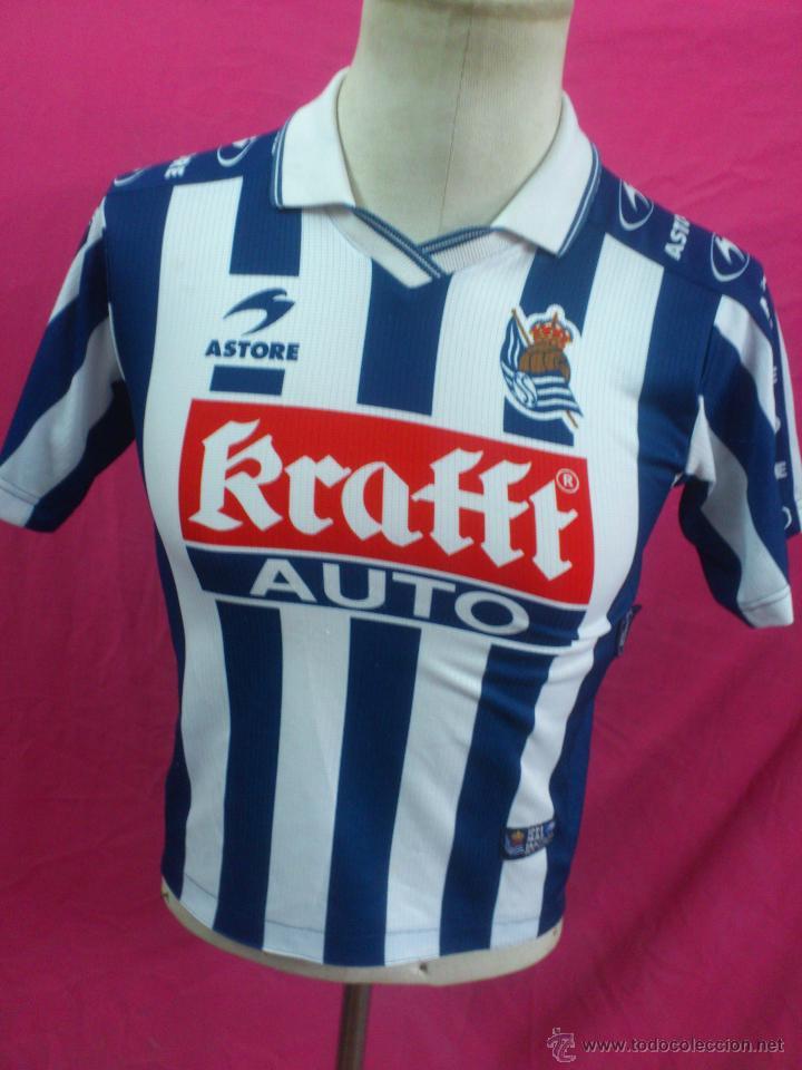 camisetas de futbol Real Sociedad online