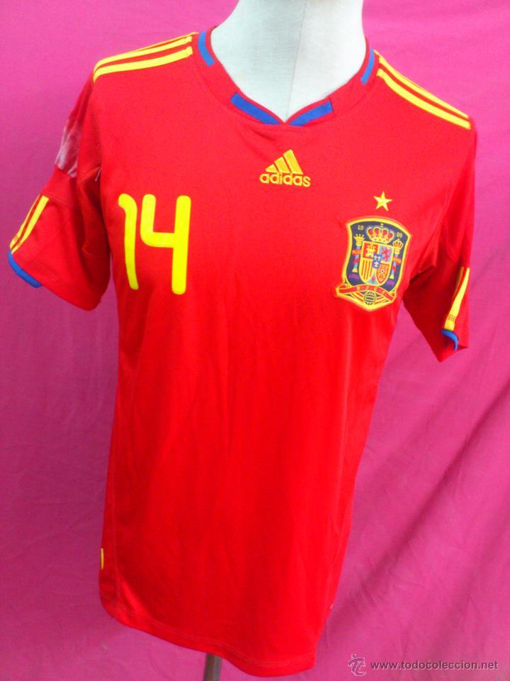 un poco Guarda la ropa Definir  camiseta futbol seleccion española españa origi - Buy Football T-Shirts at  todocoleccion - 50931127