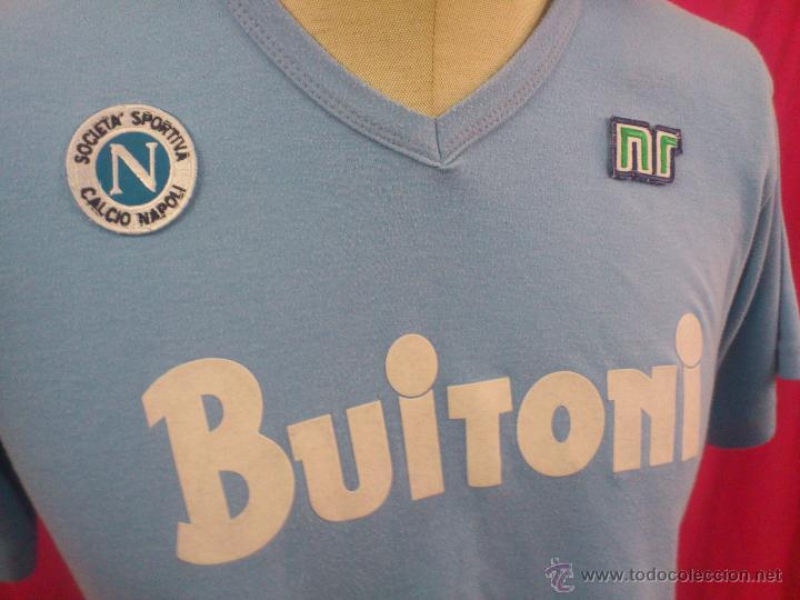 comprar camiseta Napoli en venta