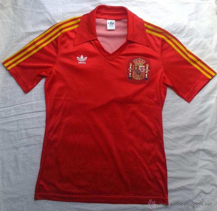 b5713b3082ac7 Futbol camiseta adidas españa mundial  82 dorsa - Vendido en Venta ...