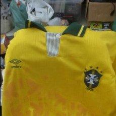Coleccionismo deportivo: CAMISETA UMBRO DE FUTBOL SELECCION BRASILEÑA BRASIL -. Lote 51511232