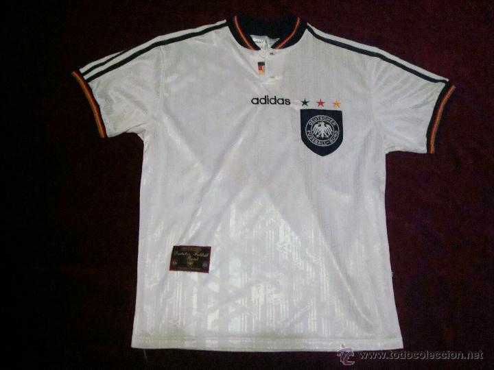 alemania camiseta de la eurocopa 1996 en inglaterra original adidas talla m 88fb835900a31