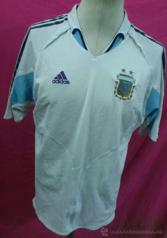 263d7dfa8530d CAMISETA FUTBOL ORIGINAL ADIDAS SELECCION ARGENTINA TALLA L (Coleccionismo  Deportivo - Ropa y Complementos -
