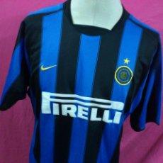 Coleccionismo deportivo: CAMISETA FUTBOL ORIGINAL NIKE INTER DE MILAN ITALIA. Lote 53336117