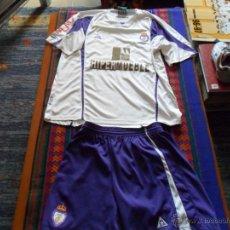 Coleccionismo deportivo: CAMISETA PANTALÓN M2A REAL JAÉN. AÑO 2008. USADA POR DAVID LIMONES. MUY RARA.. Lote 53370932