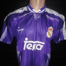Coleccionismo deportivo: CAMISETA FUTBOL ORIGINAL TAQUY REAL MADRID TEKA TALLA L. Lote 53654649