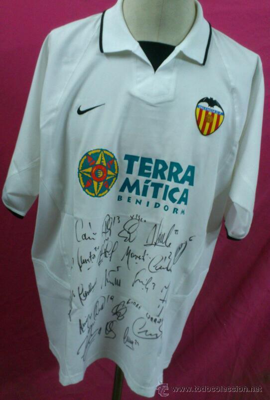 Camiseta futbol original nike valencia firmas autografos originales  plantilla coleccionismo deportivo ropa jpg 542x801 Camisetas originales 27c70ddbff751