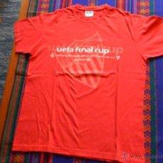 Coleccionismo deportivo: CAMISETA CONMEMORATIVA FINAL COPA DE LA UEFA 2007 SEVILLA F.C VS R.C.D. ESPANYOL. SEVILLISTA. BE.. Lote 53677222