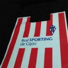 Coleccionismo deportivo: CAMISETA - FUTBOL - PETO REAL SPORTING DE GIJON -NUMERO 12 - LOGO EQUIPO - DEPORTE - ANTIGUO. Lote 97643694