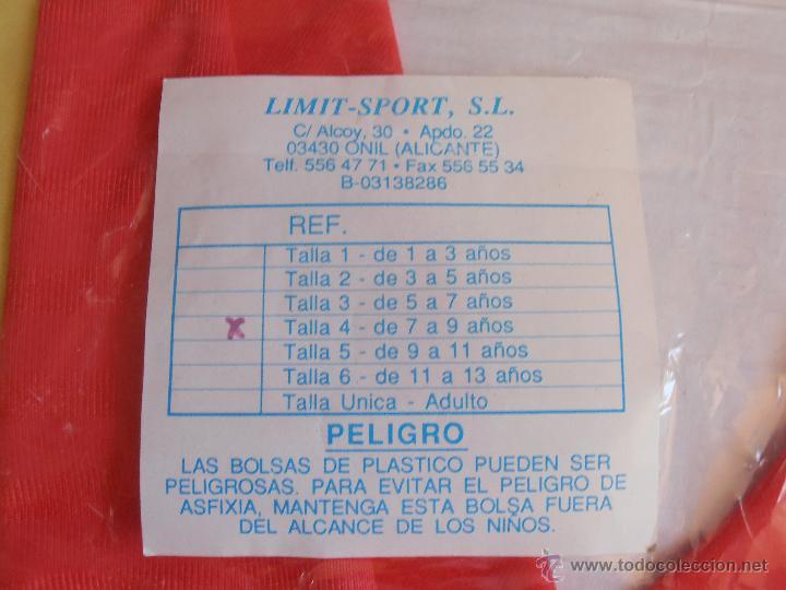 Coleccionismo deportivo: EQUIPACION NIÑO FUTBOL ESPAÑA 82 SIN ABRIR LIMIT SPORT TALLA 4 DE 7 A 9 AÑOS - Foto 2 - 54252436