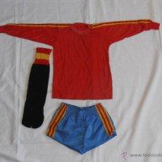 Coleccionismo deportivo: EQUIPACION NIÑO FUTBOL ESPAÑA 82 . Lote 54252538