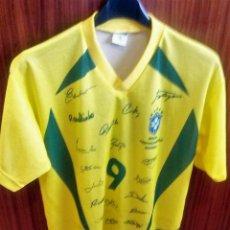 Coleccionismo deportivo: CAMISETA Nº 9 SELECCIÓN DEL BRASIL - PENTACAMPEONA DEL MUNDO. Lote 54338054