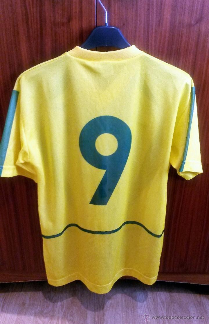 Coleccionismo deportivo: CAMISETA Nº 9 SELECCIÓN DEL BRASIL - PENTACAMPEONA DEL MUNDO - Foto 2 - 54338054
