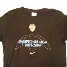 Coleccionismo deportivo: CAMISETA NIKE VALENCIA C.F CAMPEÓN LIGA 2003-2004. Lote 54707564