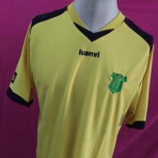 Coleccionismo deportivo: CAMISETA FUTBOL ORIGINAL LUANVI RAYO ZARAGOZA CF DORSAL 15 TALLA L. Lote 54877771