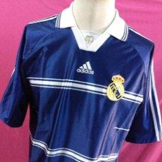 Coleccionismo deportivo: CAMISETA FUTBOL ORIGINAL ADIDAS REAL MADRID. Lote 54879154
