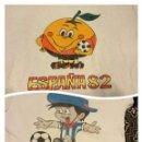 Coleccionismo deportivo: LOTE DE 2 CAMISETA ORIGINAL NARANJITO ESPAÑA 82 GAUCHITO ARGENTINA 78. Lote 55575545
