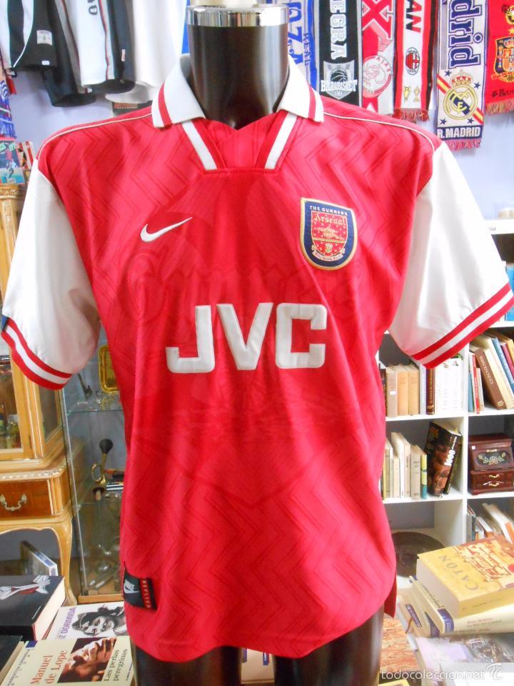camiseta arsenal f.c. jvc. nike. talla l. made - Comprar Camisetas ... 2fd2598daf9