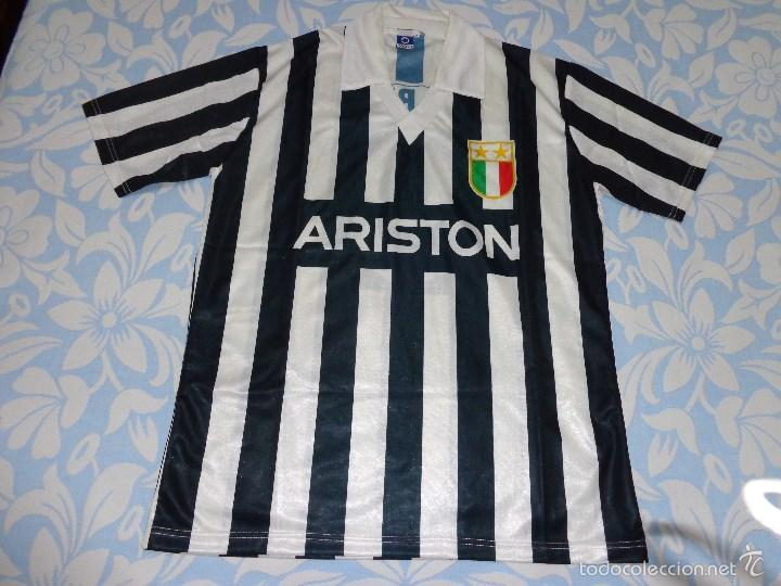 CAMISETA FUTBOL JUVENTUS 87-88 1987-1988 SHIRT RUSH ARISTON VINTAGE  (Coleccionismo Deportivo 0e75d9bb88c4e