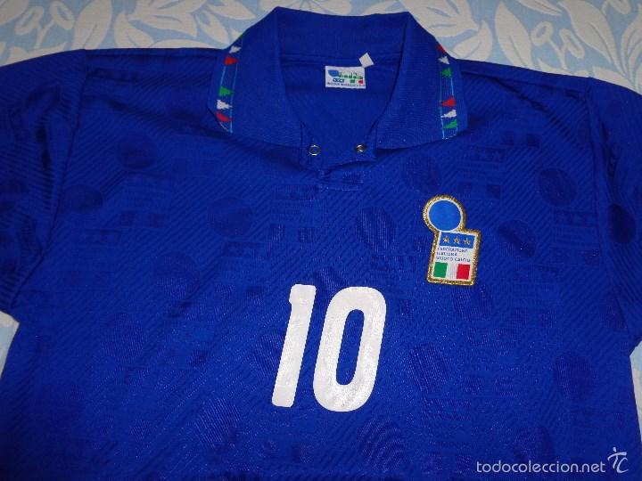 c436e19e70017 Camiseta de futbol italia shirt diadora roberto - Vendido en Venta ...