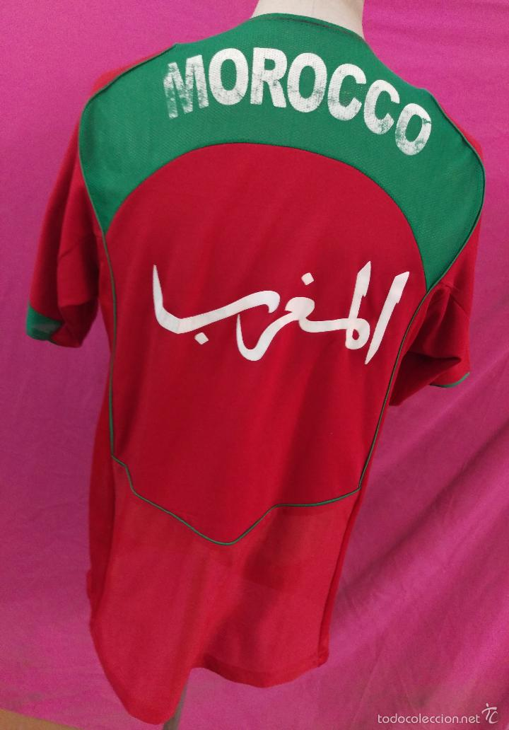 CAMISETA FUTBOL NIKE SELECCION MARRUECOS MOROCCO (Coleccionismo Deportivo -  Ropa y Complementos - Camisetas de a2bac2e1005cc