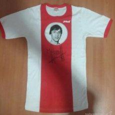 Coleccionismo deportivo: CAMISETA JOHAN CRUYFF AJAX FC BARCELONA AÑOS 60-70. Lote 103673558