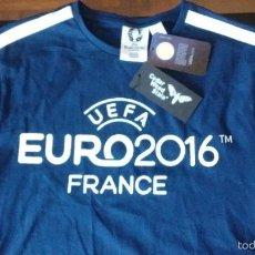 Coleccionismo deportivo: CAMISETA UEFA EURO 2016 FRANCIA. PORTUGAL CAMPEON. Lote 56375323