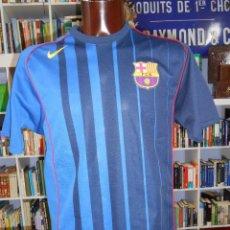 Coleccionismo deportivo: CAMISETA FUTBOL CLUB BARCELONA. BARSA. SEGUNDA EQUIPACION. TALLA M. 90. TDKDEP3. Lote 56395908