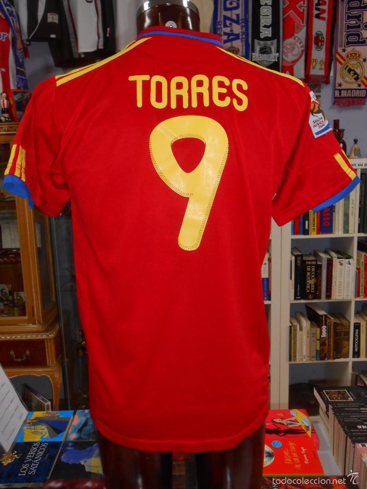 Camiseta de españa. seleccion española. fernand - Sold through ... fddd5381cfa93