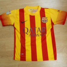 Sports collectibles - CAMISETA FUTBOL CLUB BARCELONA. BARSA. NEYMAR DORSAL 11 TALLA 10 SEGUNDA EQUIPACION. TDKDEP4 - 56430872