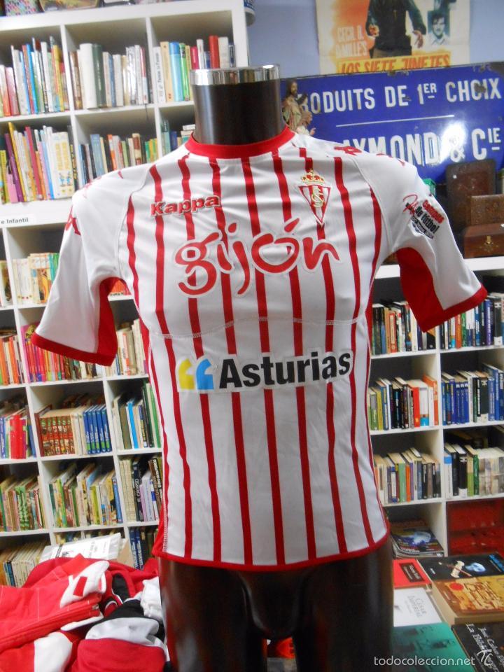 camiseta del sporting de gijon. kappa. talla s  - Comprar Camisetas ... 0ef591bbce6dc