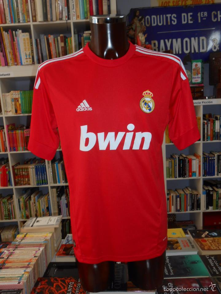 camiseta roja real madrid plastico