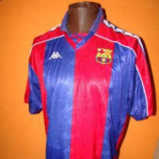 Sports collectibles - Antigua camiseta FC BARCELONA - TALLA XL - 73044713