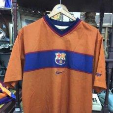 Coleccionismo deportivo: CAMISETA NIKE 2º EQUIPACION DEL FUTBOL CLUB BARCELONA - TALLA M. Lote 56880046