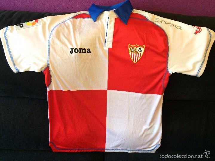 Sevilla fc camiseta s 2009 2010 joma comprar camisetas - Ropa vintage sevilla ...