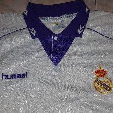 Coleccionismo deportivo: CAMISETA VINTAGE REAL MADRID HUMMEL TALLA L. Lote 57406940