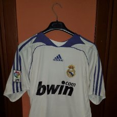 Sports collectibles - CAMISETA ADIDAS REAL MADRID BWIN.COM TALLA L - 57407208