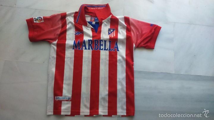 CAMISETA ATLÉTICO DE MADRID, MARBELLA TALLA 14 (Coleccionismo Deportivo - Ropa y Complementos - Camisetas de Fútbol)