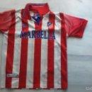 Coleccionismo deportivo: CAMISETA ATLÉTICO DE MADRID, MARBELLA TALLA 14. Lote 94362226