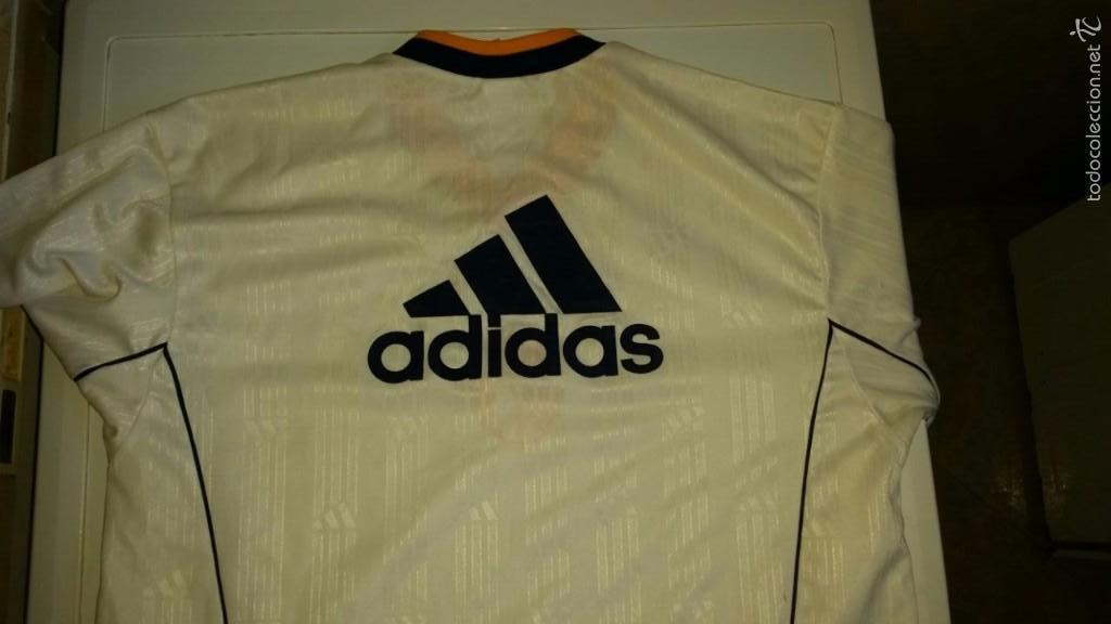 Coleccionismo deportivo: CAMISETA ADIDAS REAL MADRID ORIGINAL TALLA M - Foto 3 - 57563912